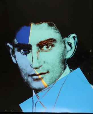 Энди Уорхол. Портрет Франца Кафки из серии «Десять знаменитых евреев XX века»