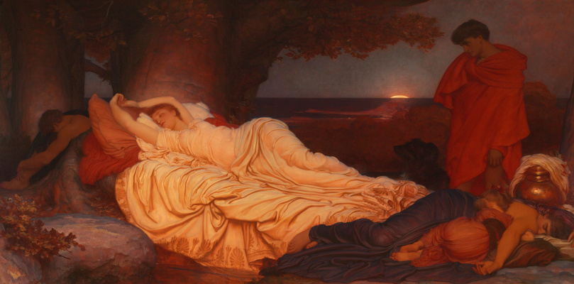 Frederic Leighton. Cimon and Iphigenia