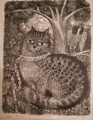 Boris Pavlovich Zabirohin. Cat Baiyun