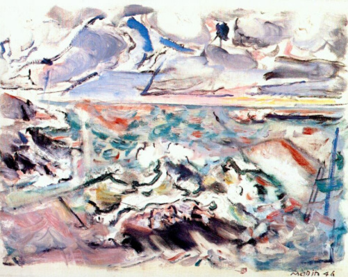 Джон Марин. Море и небо