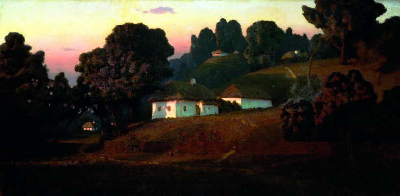 Arkhip Ivanovich Kuindzhi. Evening on the Ukraine