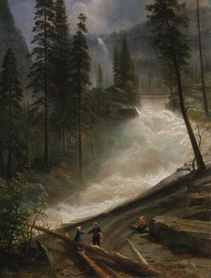 Альберт Бирштадт. Водопад Невада, парк Йосемити