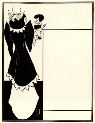 Aubrey Beardsley. Yellow book (cover of the magazine)