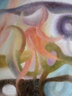 Agnes Carrot. Cosmic flower