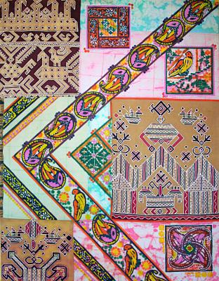Violetta Valerievna Mitina. The rhythms of Russian ornament