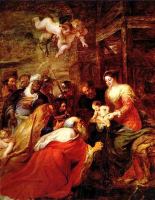 Peter Paul Rubens. The adoration of the Magi