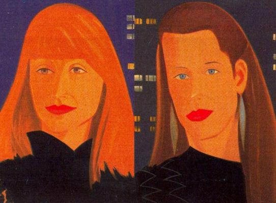 Alex Katz. Pamela and Sylvia