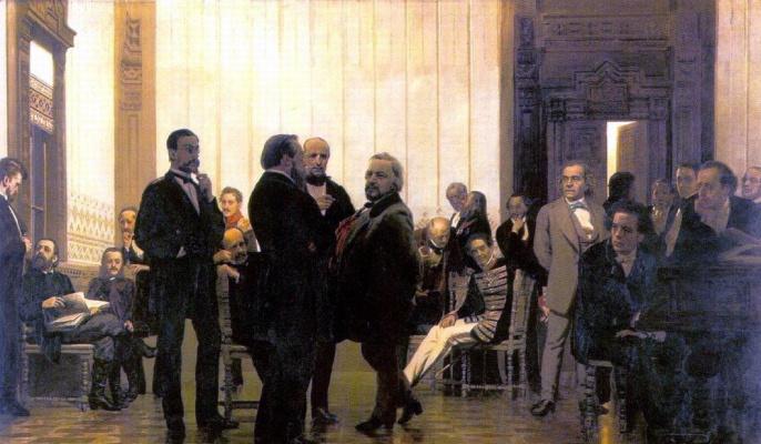 Ilya Efimovich Repin. Slavic composers (Collection of Russian, Polish and Czech musicians)