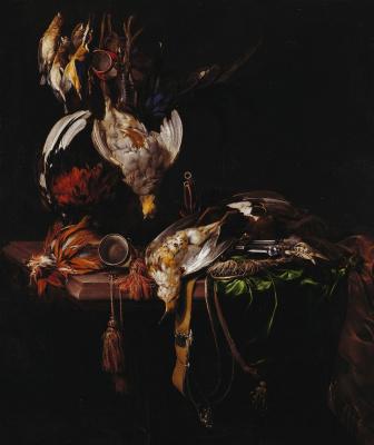 Willem van Aelst. Hunting trophies