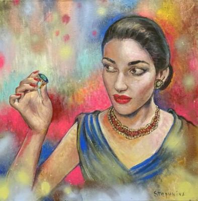 Love Stepunina. Maria Callas
