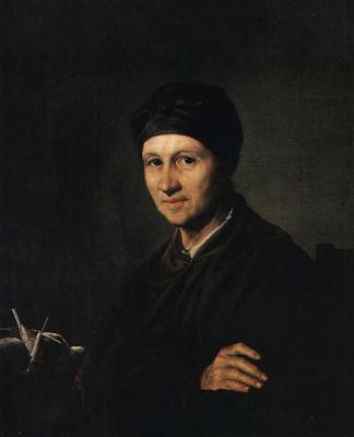 Vasily Andreevich Tropinin. Portrait Of Anna Ivanovna Tropinina