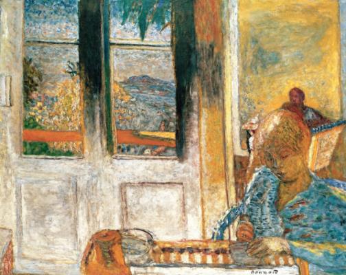 Pierre Bonnard. French window
