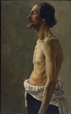 Tivadar Kostka Chontvari. Self-portrait