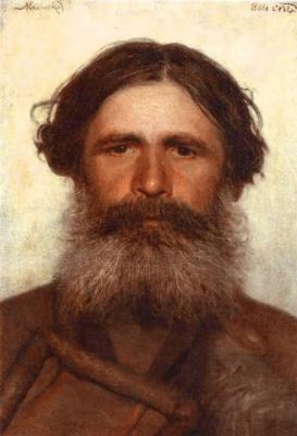 Ivan Nikolayevich Kramskoy. Portrait of a peasant