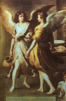 Бартоломе Эстебан Мурильо. Ангелы