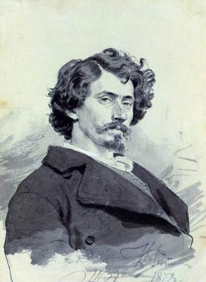 Ilya Efimovich Repin. Self-portrait