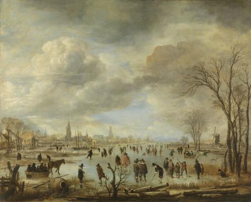 Art van der Ner. Fun on the ice