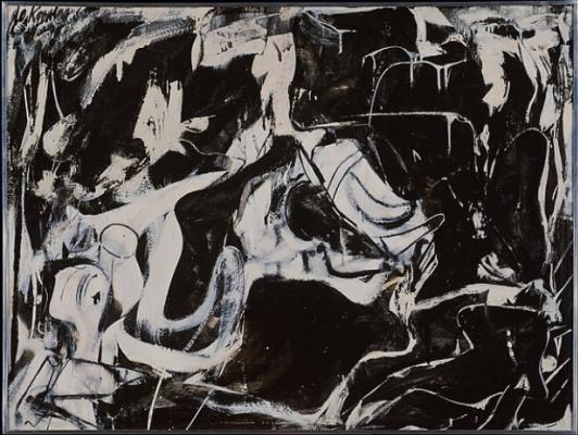 Willem de Kuning. Black unnamed