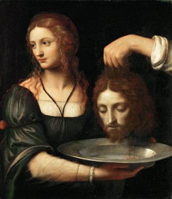 Бернардино Луини. Саломея с головой Святого Иоанна Крестителя