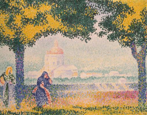 Анри Эдмон Кросс. Церковь Санта Мария