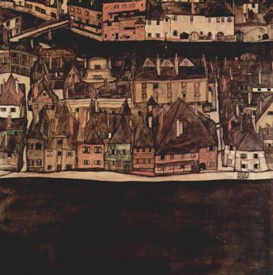 Egon Schiele. Town II