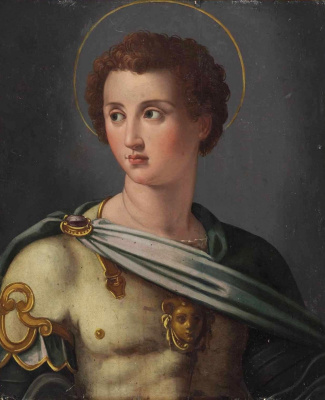 Alessandro Allori. Archangel Michael.