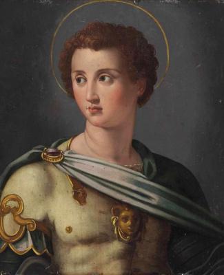 Alessandro Allori. Archangel Michael.