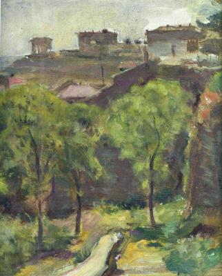 Евгений Иосифович Буковецкий. Landscape. Path