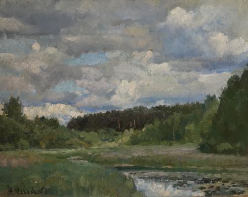 Aleksandr Chagadaev. Cloudy day