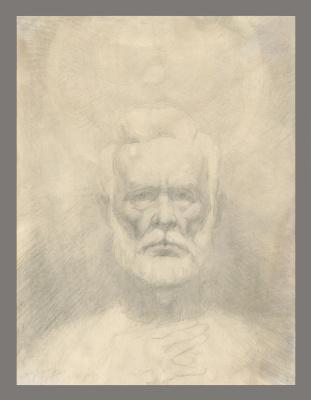 Alexandrovich Rudolf Pavlov. Self portrait 6. 1999