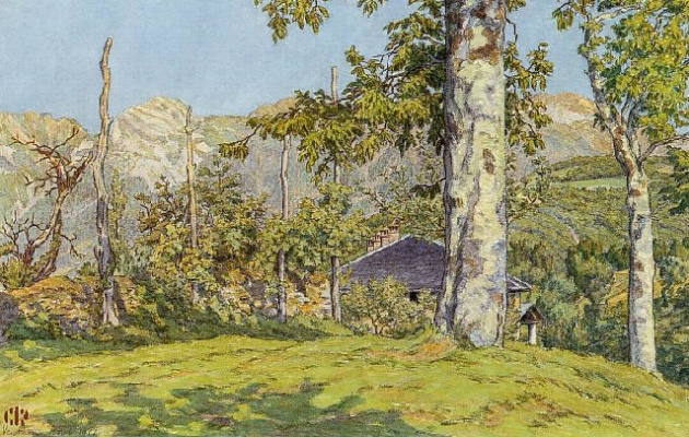 Анри (Henri) Ривьер (Rivière). Август - Вантон (Août - Venthon)