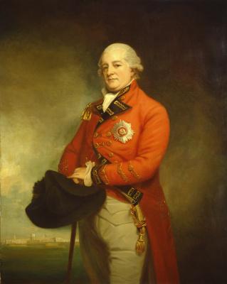 George Romney. Major General Sir Archibald Campbell