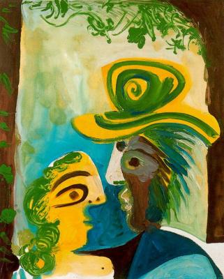 Пабло Пикассо. Мужчина и женщина (Пара)
