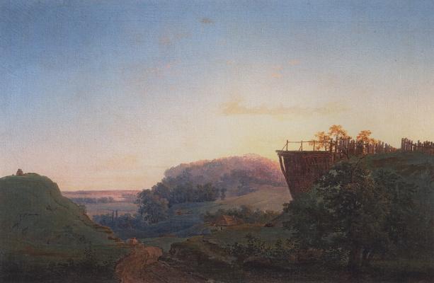 Alexey The Kondratyevich Savrasov. Ukrainian landscape