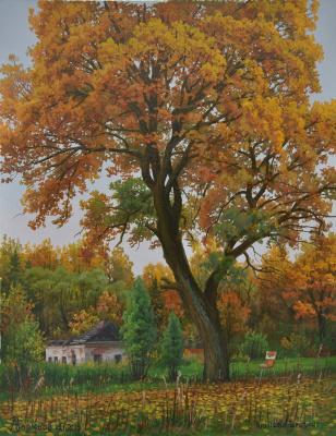 Alexander Vasilyevich Zoryukov. Onisovskaya autumn
