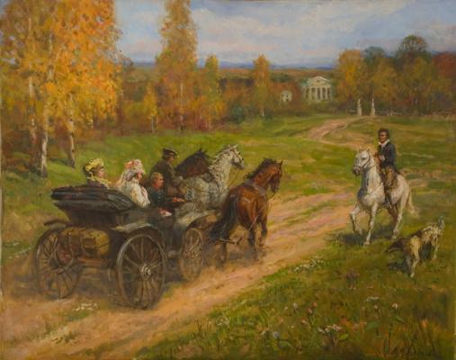 Aleksandr Chagadaev. A meeting
