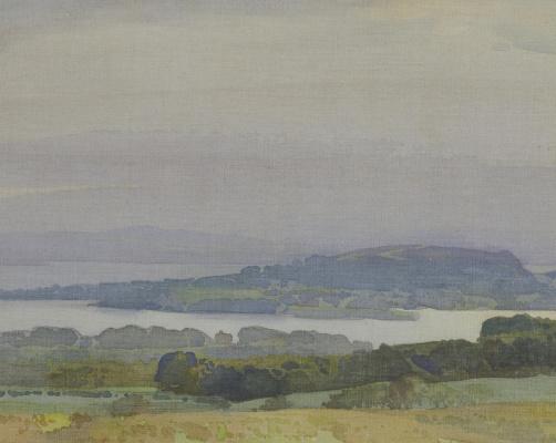 William Russell Flint 1880 - 1969 Scotland. Ardencaple and Roseneath. 1917
