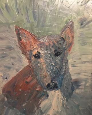 Victoria Valentinovna Zachkova. Bull Terrier Spike