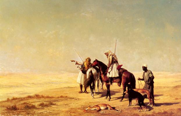 Этьен Бийе. Пустыня Хант