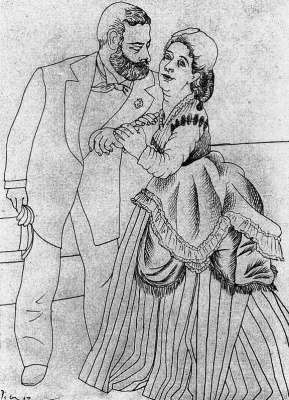 Pablo Picasso. Courtship