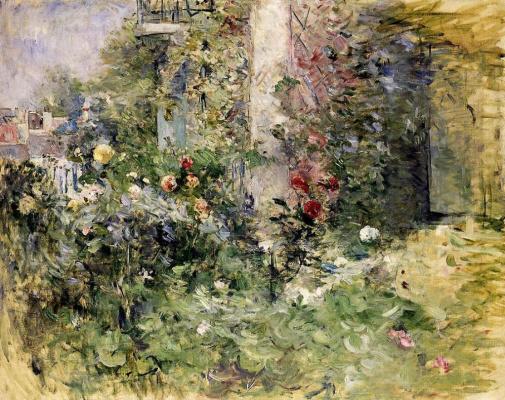 Berthe Morisot. The Garden at Bougival