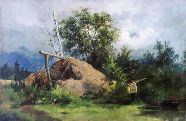 Ivan Ivanovich Shishkin. The hut