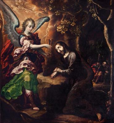 Кристобаль де Виллалпандо. Агония в саду