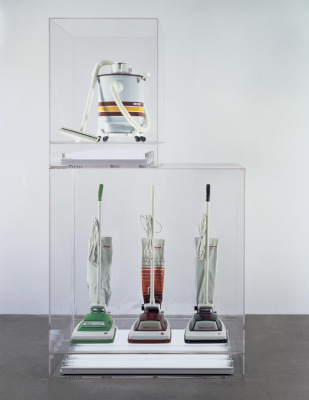 """Джефф Кунс. New: """"Hoover Convertible"""". Green, red, brown"""
