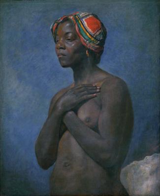 Неизвестные Французские. Черная женщина