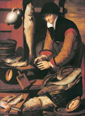 Питер Питерс. Торговка рыбой