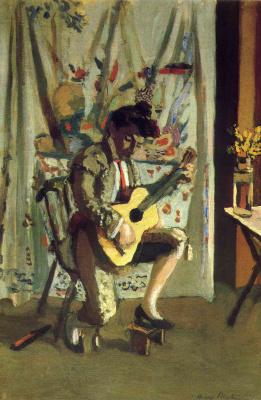 Henri Matisse. Guitar player