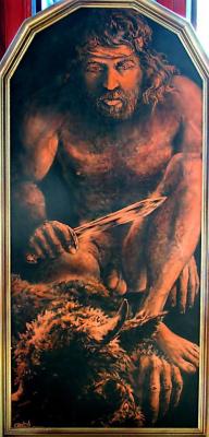 Zeav Gorin. Тесей и менотавр