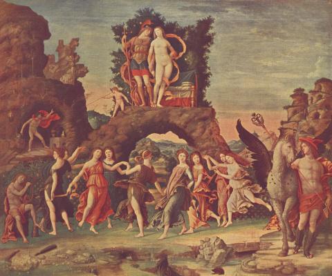 Andrea Mantegna. Parnas