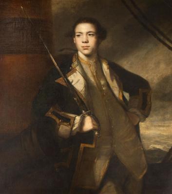 Joshua Reynolds. Captain Torrin's Portrait